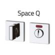 Space Q WC visszajelzős rozetta