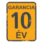 10 év garancia
