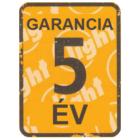 5 év gyártói garancia!