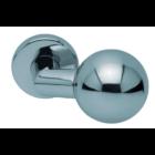 Scoop 1106 Thema SB polírozott inox körrozettás kilincsgarnitúra