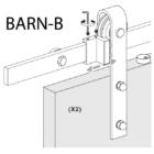 """BARN """"B"""" Típusú ajtóvasalat"""