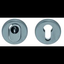 Scoop inox cilindervédős biztonsági körrozetta