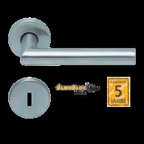 Scoop Thema 1106 SBL rozsdamentes acél körrozettás kilincsgarnitúra SlideBloc Light mechanikával