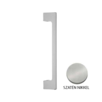 Mandelli Tolóajtó húzórúd pár matt szatén nikkel 2239/AC