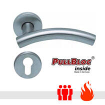 Scoop 1086 PullBloc tűzgátló körrozettás kilincsgarnitúra