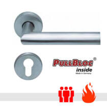 Scoop 1108 PullBloc tűzgátló körrozettás kilincsgarnitúra