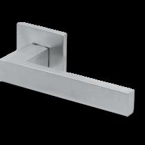 Scoop formspiele 8040 matt króm lapos négyzetrozettás kilincsgarnitúra