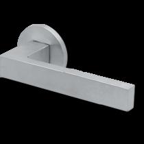 Scoop formspiele 8040 matt króm lapos körrozettás kilincsgarnitúra