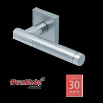 Scoop 1275 Roxy II PB inox négyzetrozettás kilincsgarnitúra