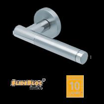 Scoop 1275 Roxy II SB inox körrozettás kilincsgarnitúra