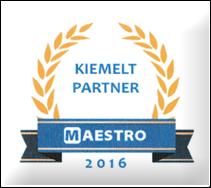 Kiemelt Maestro partner 2016