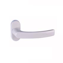 Maestro Opera fehér terasz ajtó kilincsgarnitúra oválrozettás