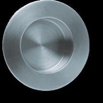 Scoop rozsdamentes acél kör húzókagyló ø 84mm