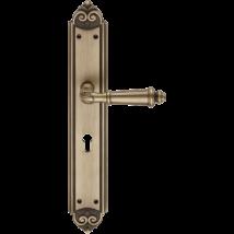 Linea Cali Aida matt patinás XL hosszúcímes kilincsgarnitúra 1610 PL
