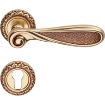 Linea Cali Aisha francia arany díszes rozettás kilincsgarnitúra 1650 RB 115