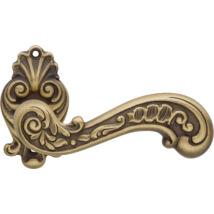 Linea Cali Barocco matt patinás díszes rozettás kilincsgarnitúra 1520 RB 015