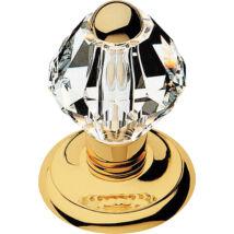 Linea Cali Crystal aranyozott fix gomb ø 65 mm 830 PT