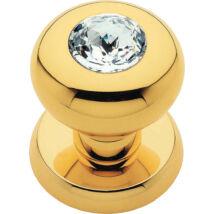 Linea Cali Elika Crystal aranyozott fix gomb garnitúra körrozettával 991 PT