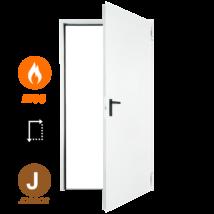 FORM EI90 acél tűzgátló ajtó DIN 875x2125 (jobbos nyitásirány)