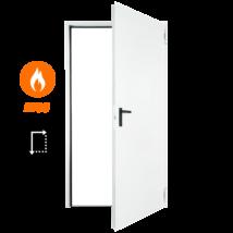 FORM EI60 acél tűzgátló ajtó DIN 875x2125 (univerzális nyitásirány)