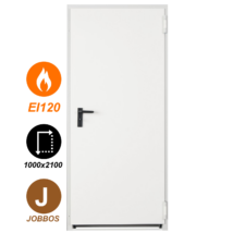 NINZ Proget EI120 acél tűzgátló ajtó 1000x2100 (Jobbos nyitásirány)