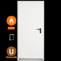 NINZ Univer EI60 acél tűzgátló ajtó 1000x2100 (univerzális nyitásirány)