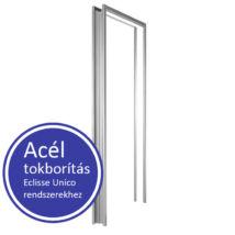 Eclisse acél horganyzott felületű tokborítás szett falba futó tolóajtókhoz 650X2100 100-as