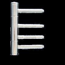 Háromrészes pánt - pántközép fatokhoz és pántalsó-pántfelső  V4400+V0026