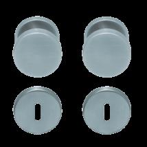 Maestro körrozettás kilincsgarnitúra henger gomb-kilincs
