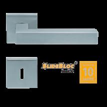 Scoop 1002 SB inox négyzetrozettás kilincsgarnitúra