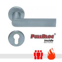Scoop 1008 PullBloc tűzgátló körrozettás kilincsgarnitúra