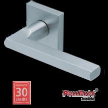 Scoop 1025 PB inox négyzetrozettás kilincsgarnitúra