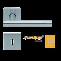 Scoop 1074 Roxy SB inox négyzetrozettás kilincsgarnitúra