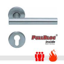 Scoop 1074 PullBloc tűzgátló körrozettás kilincsgarnitúra