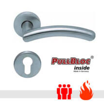 Scoop 1084 PullBloc tűzgátló körrozettás kilincsgarnitúra