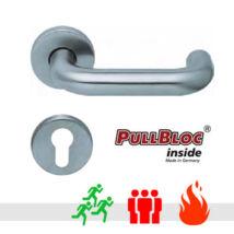 Scoop 2104 PullBloc tűzgátló pánik körrozettás kilincsgarnitúra