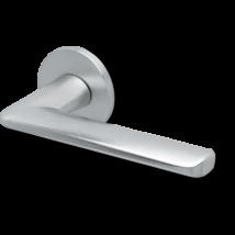 Scoop formspiele 8010 matt króm lapos körrozettás kilincsgarnitúra