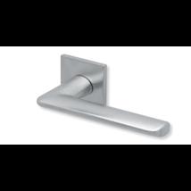 Scoop formspiele 8010Q matt króm lapos négyzetrozettás kilincsgarnitúra