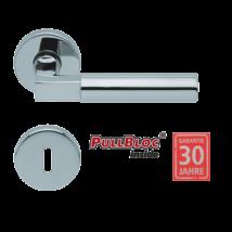 Scoop 1016 Bauhaus polírozott inox kilincsgarnitúra PullBloc mechanikával