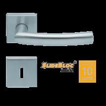 Scoop 1003 Geo inox kilincsgarnitúra SlideBloc mechanikával