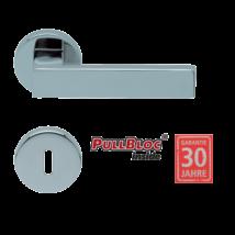 Scoop 1005 Quadra polírozott inox kilincsgarnitúra SlideBloc mechanikával
