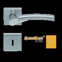 Scoop 1764 Rocket inox kilincsgarnitúra SlideBloc mechanikával