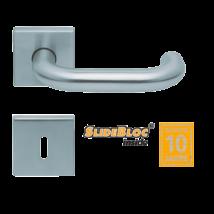 Scoop 1104 Rondo inox kilincsgarnitúra SlideBloc mechanikával