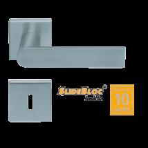 Scoop 1008 Semi SB inox négyzetrozettás kilincsgarnitúra