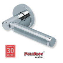 Scoop 1013 polírozott inox kilincsgarnitúra PullBloc mechanikával