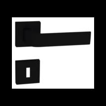 Tupai Cinto gyöngy fekete négyzetrozettás kilincsgarnitúra
