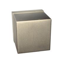 Tupai Cube titán négyzetrozettás kilincsgarnitúra