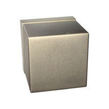 Tupai Cube titán négyzetrozettás kilincsgarnitúra HR 2734Q