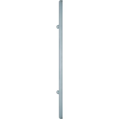 Scoop szögletes rozsdamentes acél húzórúd 600 mm magas (350mm furattáv)
