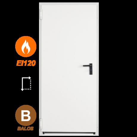 NINZ Proget EI120 acél tűzgátló ajtó